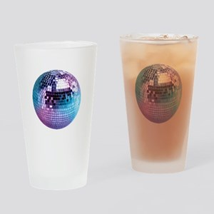 Disco Ball (personalizable) Drinking Glass