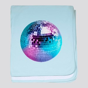 Disco Ball (personalizable) baby blanket