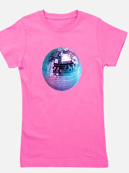 Disco Ball (personalizable) Girl's Tee