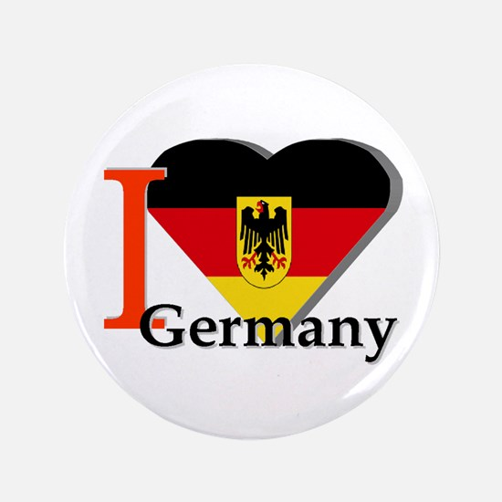 "I love Germany 3.5"" Button"
