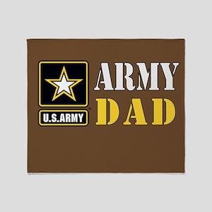 ArmyDad_0414 Throw Blanket