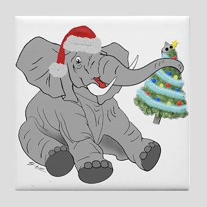 GOP Elephant w/ Tree Tile Coaster