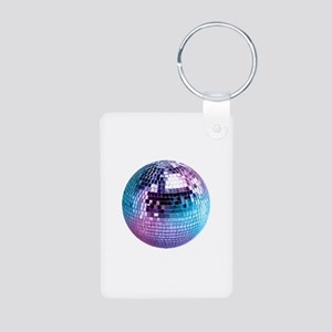 placeholder-13-5-round Aluminum Photo Keychain