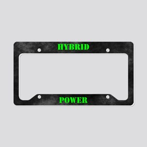Hybrid Power License Plate Holder