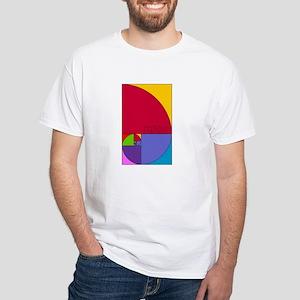 Fibonacci Mathlete Pop Art T-Shirt