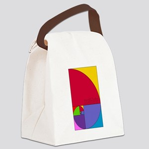 Fibonacci Mathlete Pop Art Canvas Lunch Bag