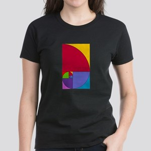 Fibonacci Mathlete Pop Art T-Shirt