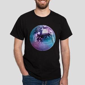 Disco Ball Graphic Dark T-Shirt