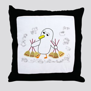 Trying to be Faster Throw Pillow