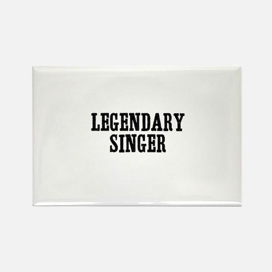 legendary singer Rectangle Magnet