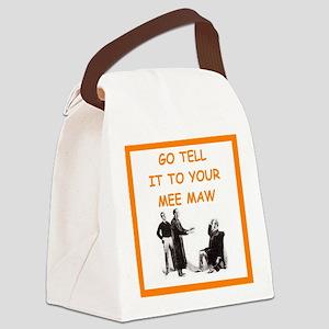 221b baker street joke Canvas Lunch Bag