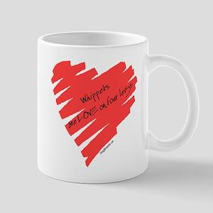 Whippet Love on 4 Legs Mug