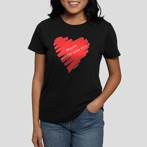 Whippet Love on 4 Legs Women's Dark T-Shirt