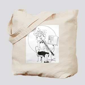 Musicians in Caricature Tote Bag