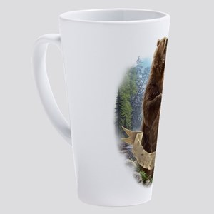 Grizzly Bear 17 oz Latte Mug
