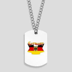 German COA ribbon Dog Tags