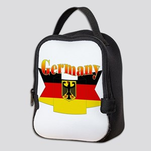 German COA ribbon Neoprene Lunch Bag