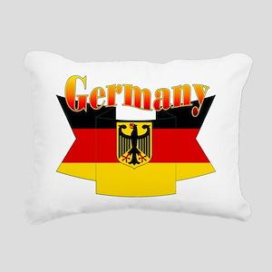 German COA ribbon Rectangular Canvas Pillow
