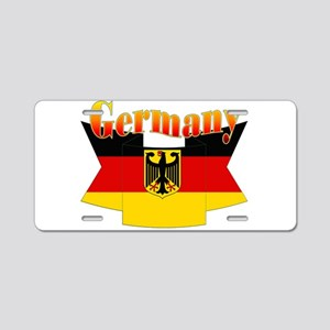 German COA ribbon Aluminum License Plate
