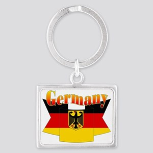 German COA ribbon Landscape Keychain