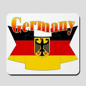 German COA ribbon Mousepad