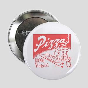 Vegan Pizza Button