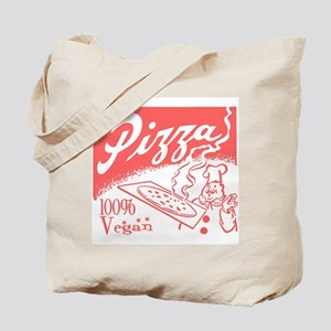 Vegan Pizza Tote Bag