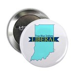 """2.25"""" Button (10 pack) True Blue Indiana LIBERAL"""
