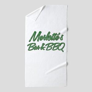 Vintage Merlottes Beach Towel