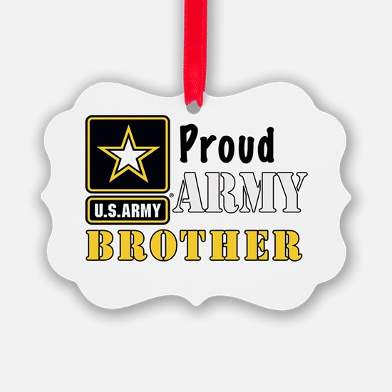 Army Brother Ornament
