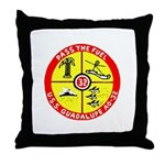 USS GUADALUPE Throw Pillow