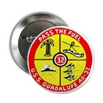 """USS GUADALUPE 2.25"""" Button"""