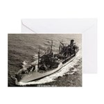 USS GUADALUPE Greeting Card