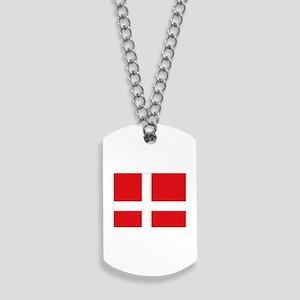 Denmark flag Dog Tags