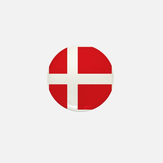 Denmark flag Mini Button