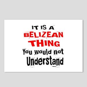 It Is Belizean Thing Postcards (Package of 8)