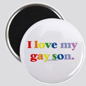 I love my gay son. Magnet