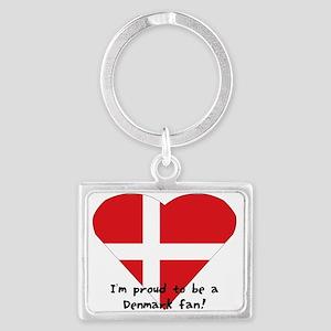Denmark Fan Landscape Keychain Keychains