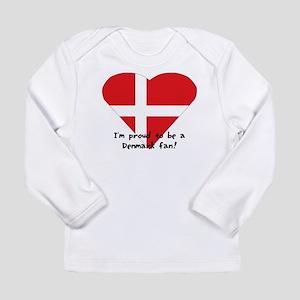 Denmark fan Long Sleeve Infant T-Shirt