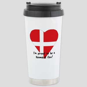 Denmark fan Stainless Steel Travel Mug