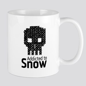 'Addicted to Snow' Mug