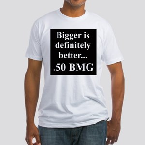 50 BMG Fitted T-Shirt
