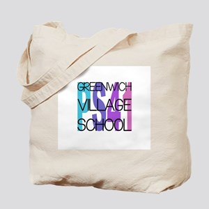 PS 41 Greenwich Village School - Blue Pur Tote Bag
