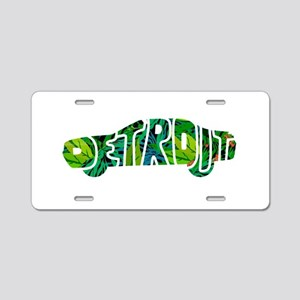 DETROIT Aluminum License Plate