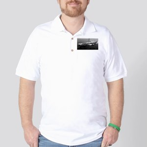 USS Yorktown Ship's Image Golf Shirt