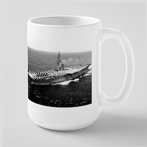 USS Yorktown Ship's Image Large Mug
