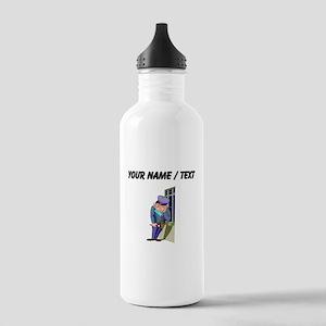 Custom Security Guard Water Bottle