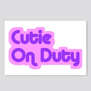"""Cutie on Duty"" Postcards (Package of 8)"