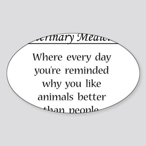 Vet Med: Animals Better Sticker