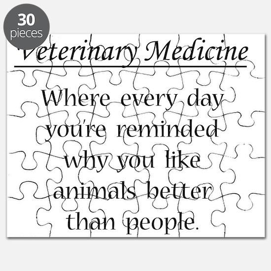 Vet Med: Animals Better Puzzle